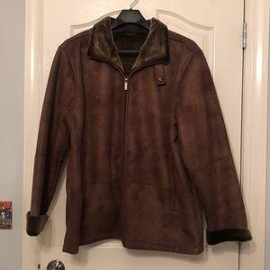 Perry Ellis Fur Coat